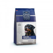 Gina Elite Adult Dog Chicken and Rice корм сой для взрослых собак с цыпленком и рисом