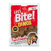 Brit Let's Bite лакомство для собак динозавры