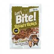 Brit Let's Bite Bounty Bones лакомство для собак косточки