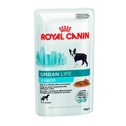 Royal Canin Urban Life Junior для щенков, пауч (соус)