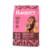 Banters Senior Light корм для пожилых собак курица с рисом