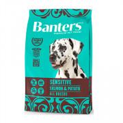 Banters Sensitive корм для собак лосось с картофелем