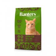 Banters Sterilized корм для кошек рыба с рисом