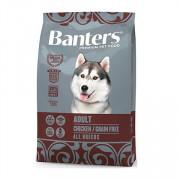 Banters корм для собак беззерновой курица