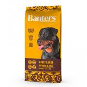 Banters корм для собак крупных пород курица с рисом