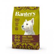 Banters корм для собак мелких пород курица с рисом