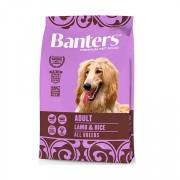 Banters корм для собак ягненок с рисом
