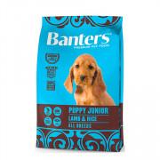 Banters корм для щенков ягненок с рисом