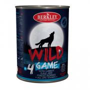 Berkly-Dog Wild консеры для собак всех возрастов дичь с морковью, капустой и лесными ягодами №4