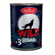 Berkly-Dog Wild консеры для собак всех возрастов кабан с пастернаком, сладким луком и лесными ягодами №3