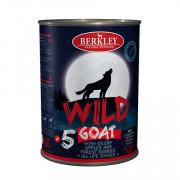 Berkly-Dog Wild консеры для собак всех возрастов коза с сельдереем, яблоками и лесными ягодами №5