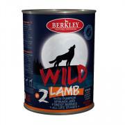 Berkly-Dog Wild консеры для собак всех возрастов ягненок с тыквой, шпинатом и лесными ягодами №2